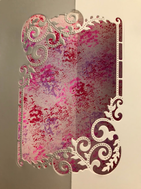 Isobel and Colourful Crystal Tints Background Paper