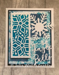 Stitched Snowflake Striplet Painted Tint