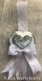 Laced Heart Wedding Gift