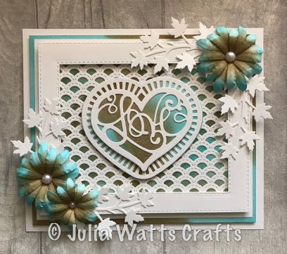 Scalloped Lattice Frames B Love Expression Laced Heart