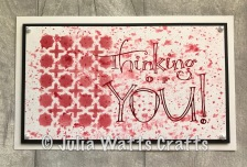 Faux Script Thinking of You