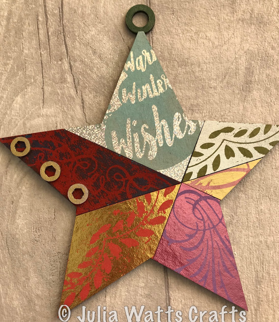 Star Ornament Waste Foils