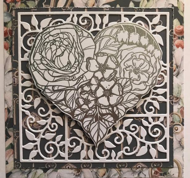 floral love stephanie low leaf border frame marisa job