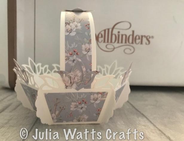 spellbinders tulip flower box 6 sided