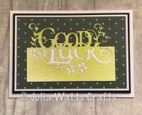 Paper Cuts Good Luck Lakeside Blooms Essentials