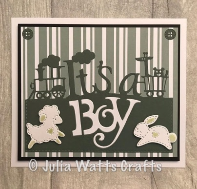 Paper Cuts It's a Boy Lakeside Blooms Essentials 2