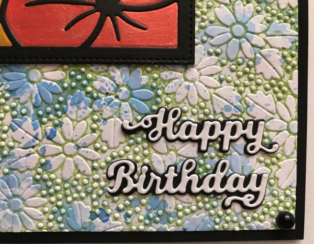 Dotted Daisies Pinpoint EMbossing Folder