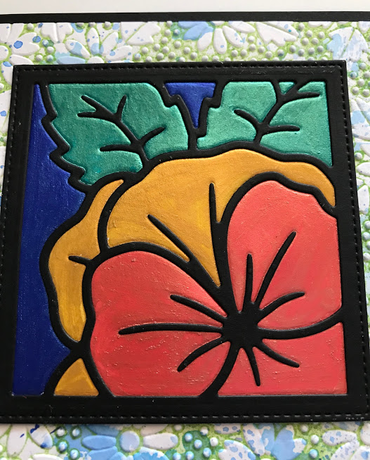Pansy Flower Square Pixie Powders