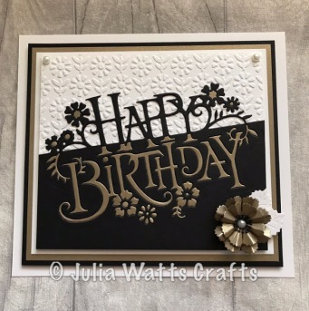 Paper Cuts Happy Birthday Paper Pieced 3