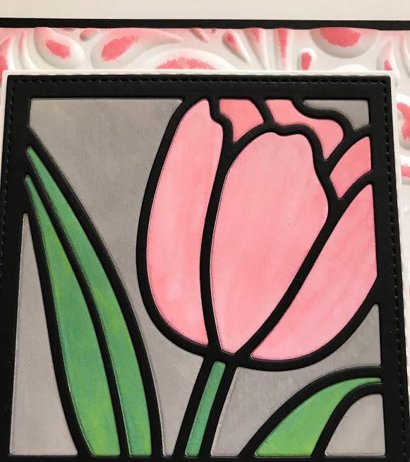 Tulip Flower Frame