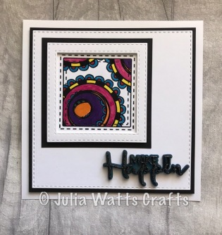 Art Tiles Carnival Brights Art Effex Mixed Media Embossing Powder