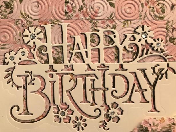 Paper Cuts Happy Birthday Edger Bargello Paper Boutique