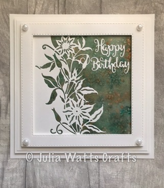 Paper Cuts Clematis Edger Pixie Powders Field of Flowers EF