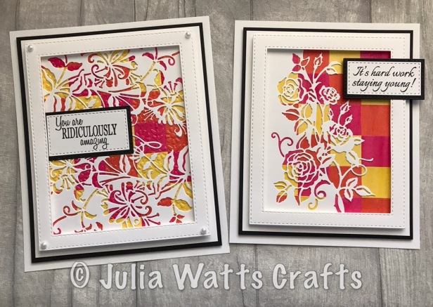 Paper Cuts Honeysuckle & Rambling Roses Bargello Lustre Polishes