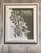Paper Cuts Rambling Rose Edger Diamond Frost