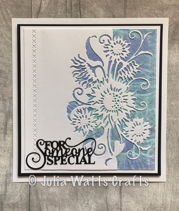 Paper Cuts Sunflower Edger Misters & Stencils