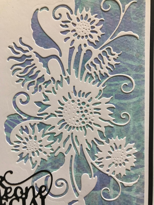 Sunflower Edger Misters Stencils