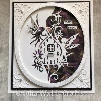 Fairy Door Edger with Opal Polish background
