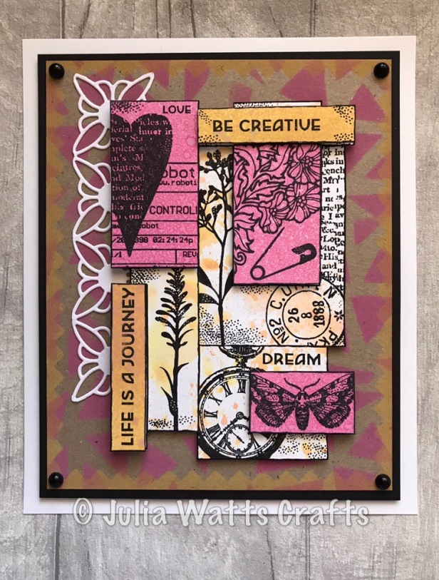Woodware Layered Collage 4