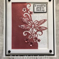 Glitter Kiss Dragonfly Edger