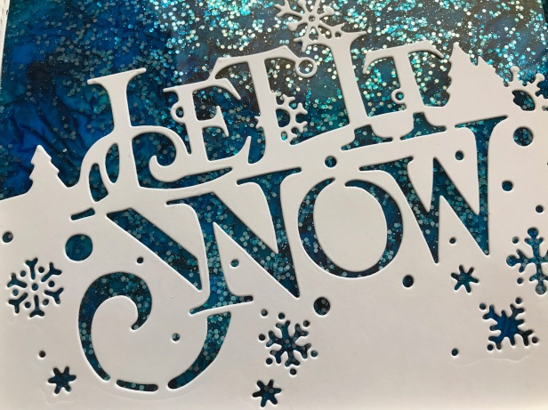 Let it Snow Caught in Crystal