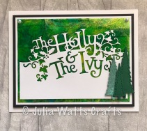 Paper Cuts Holly & the Ivy
