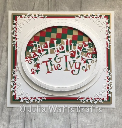 Paper Cuts Holly & the Ivy 1