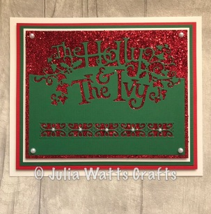 Paper Cuts Holly & the Ivy 3