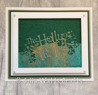 Paper Cuts Holly & the Ivy 5