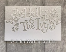 Paper Cuts Holly & the Ivy 6