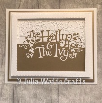 Paper Cuts Holly & the Ivy 7
