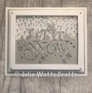 Paper Cuts Let it Snow 5