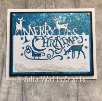 Paper Cuts Merry Christmas 1