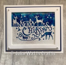 Paper Cuts Merry Christmas 2