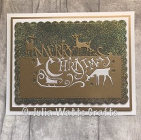 Paper Cuts Merry Christmas 3