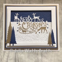 Paper Cuts Merry Christmas 4
