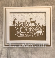 Paper Cuts Merry Christmas 7