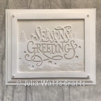 Paper Cuts Christmas Word Edgers on Create & Craft Today