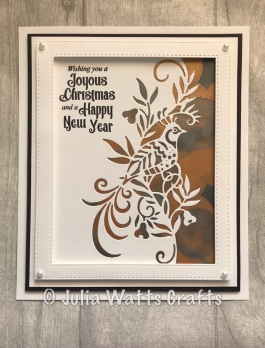 Paper Cuts First Day of Christmas Edger 1