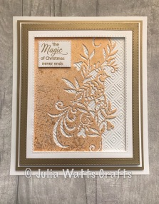 Paper Cuts First Day of Christmas Edger 6