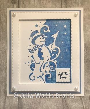 Paper Cuts Snowman Edger 5
