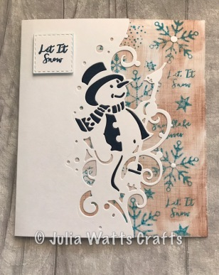 Paper Cuts Snowman Edger 6