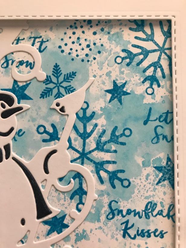 Snowflake Companions Bluebird Make Art