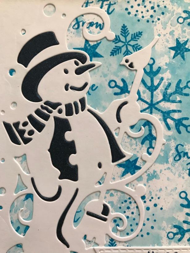 Snowman Edger Snowflake Companions