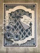 Diamond Layering Stencils Blue Paste EP DO
