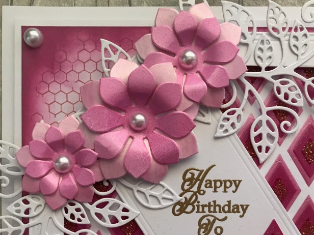 Spellbinders Succulent and Mum Pink Ombre Pastes