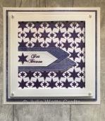 Stars Layering Stencils Purples