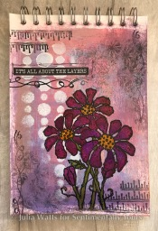 JW Dandy Daisy Journal Page 1