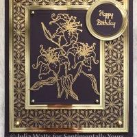 Trudie Howard Lovely Lilies Sneak Peek