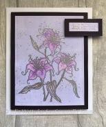 JW Lovely Lilies Gelli Plate